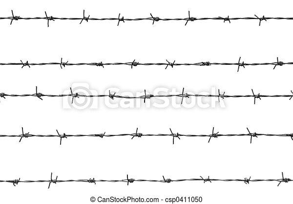 barbed wires - csp0411050