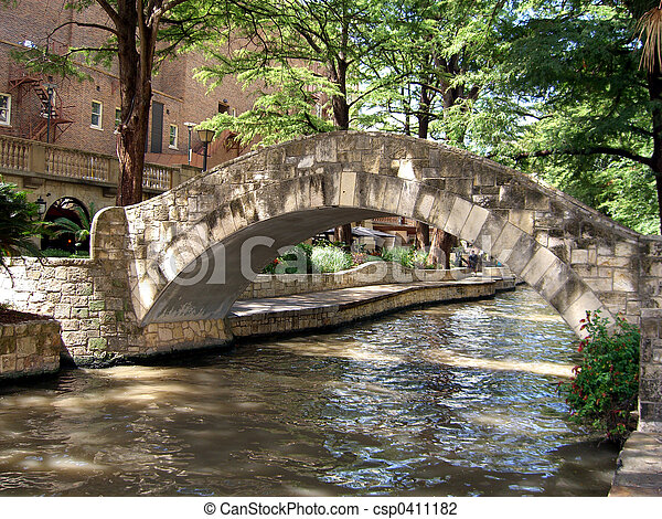 Bridge over river - csp0411182