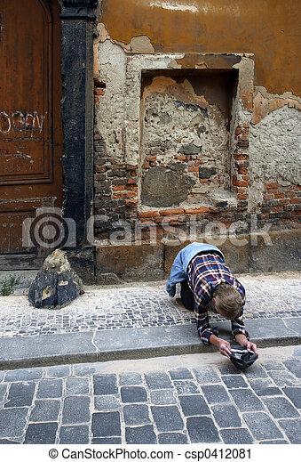 Poverty in Prague - csp0412081