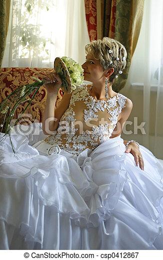 Beautiful bride - csp0412867