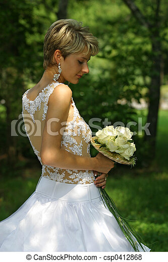 Beautiful bride - csp0412868