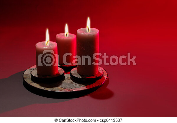 Three Candles - csp0413537