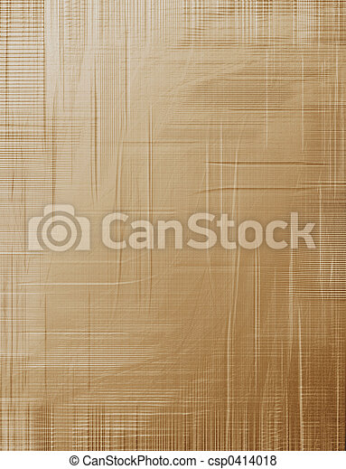 Creased brown paper - csp0414018