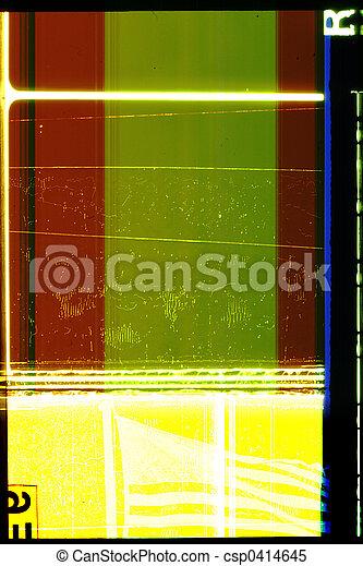 35 mm motion film - csp0414645