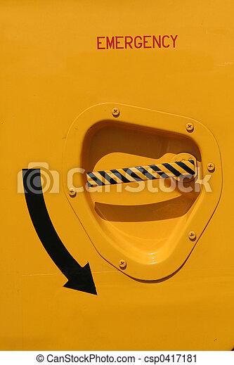 emergency door - csp0417181