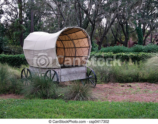 Covered Wagon - csp0417302