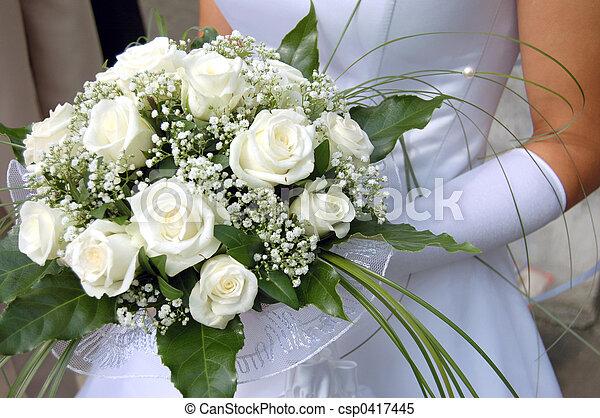 Bride\'s bouquet - csp0417445