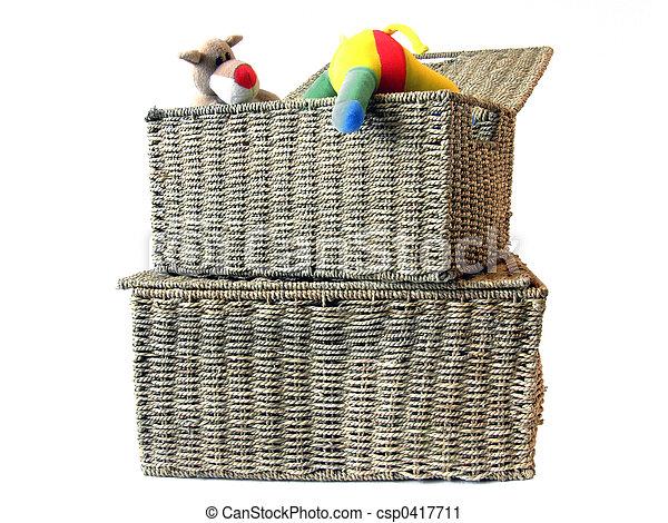 Toy storage box 1 - csp0417711