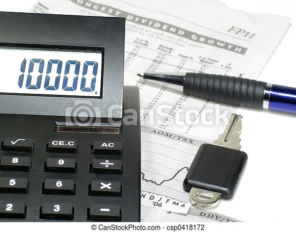 financial numbers - csp0418172