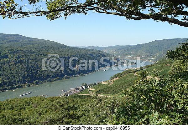 Rhine Journey - csp0418955