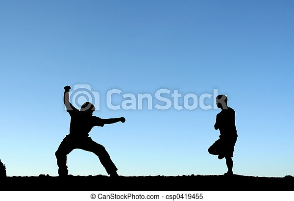 Martial arts - csp0419455