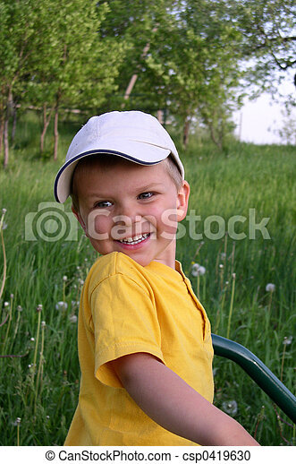 Child in Nature - csp0419630