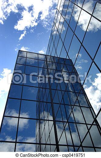bâtiment, bureau - csp0419751
