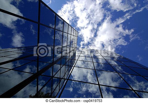 建築物, 辦公室 - csp0419753
