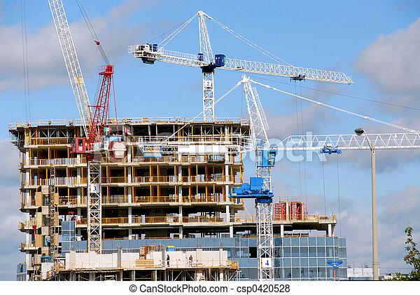 建築物, 建設 - csp0420528