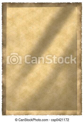 old parchment - csp0421172