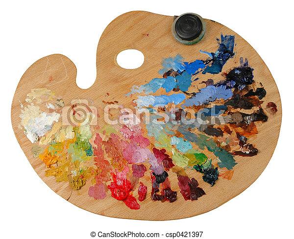 Artist\'s Palette - csp0421397
