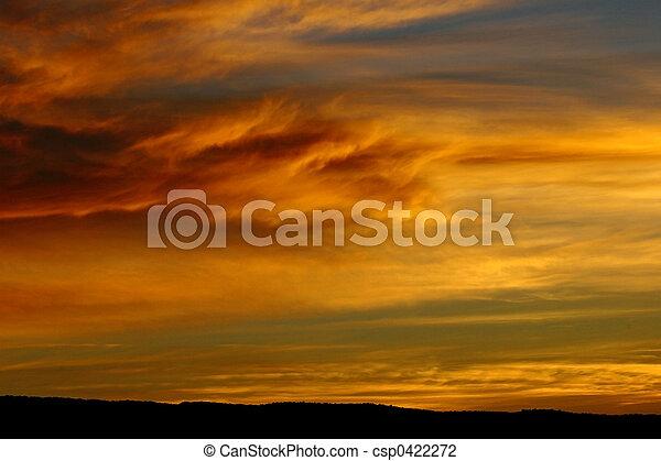 Dramatic Sunrise - csp0422272