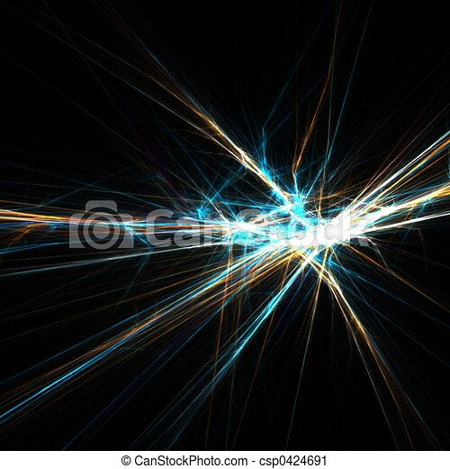 Flashing light rays - csp0424691