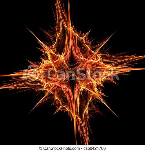 Golden star - csp0424706