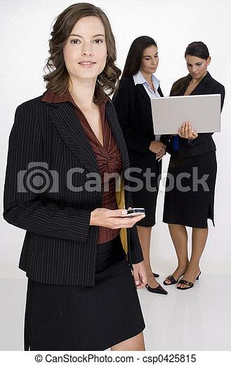 Business, gens - csp0425815