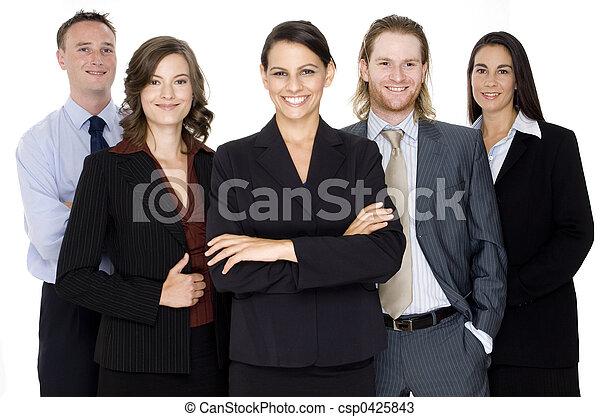 Business, gens - csp0425843