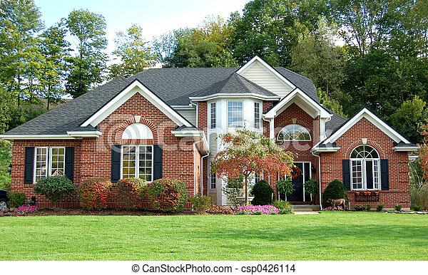 Beautiful house - csp0426114