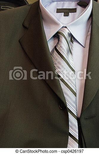 suit and tie - csp0426197
