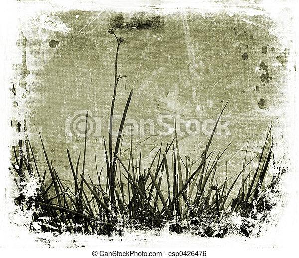 Grunge nature - csp0426476