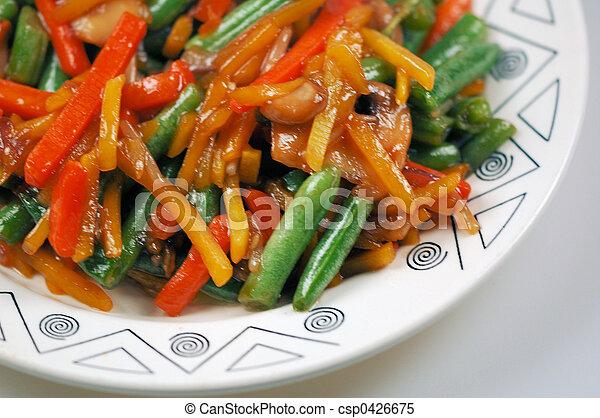 stir fried food - csp0426675