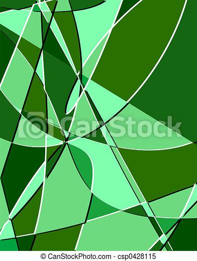 Stock Illustrations of Emerald Fractals - Emerald-green fractals ...