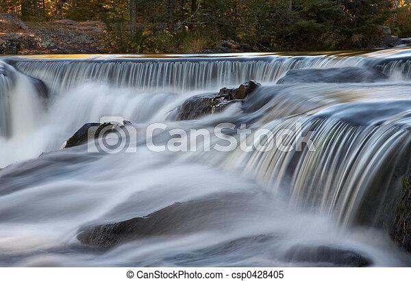 Cascading Waterfalls - csp0428405