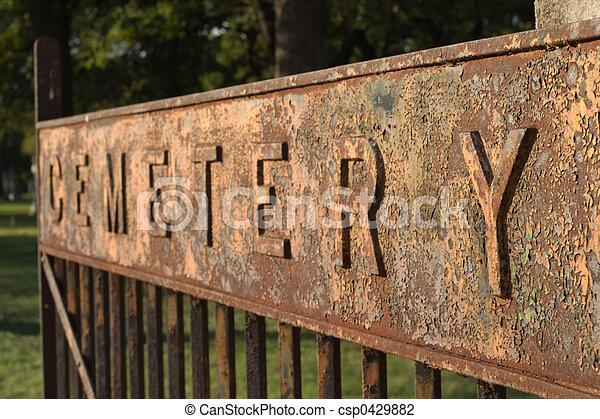 Cemetary Gate - csp0429882