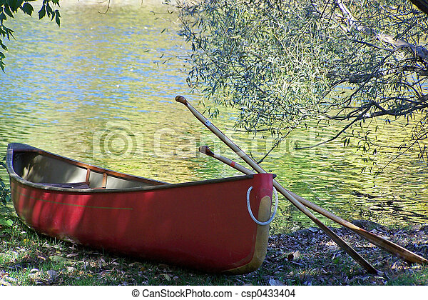 Red Canoe - csp0433404