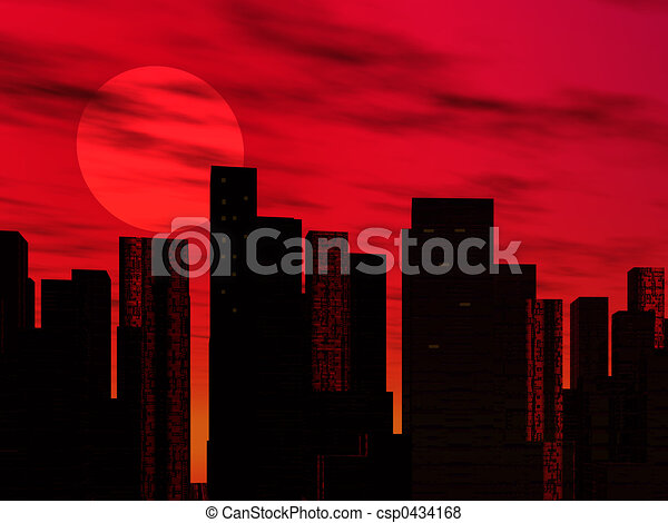 Cityscape - csp0434168