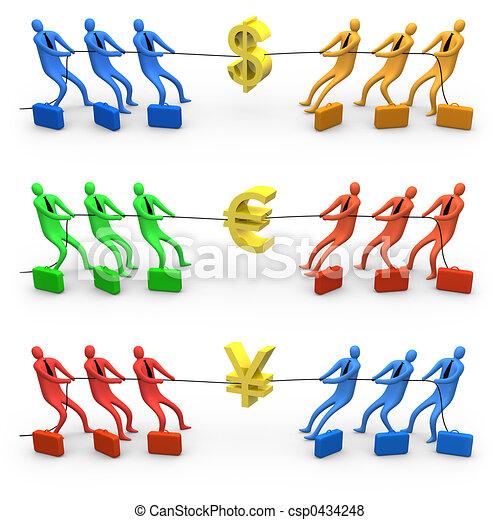 Economy War - csp0434248