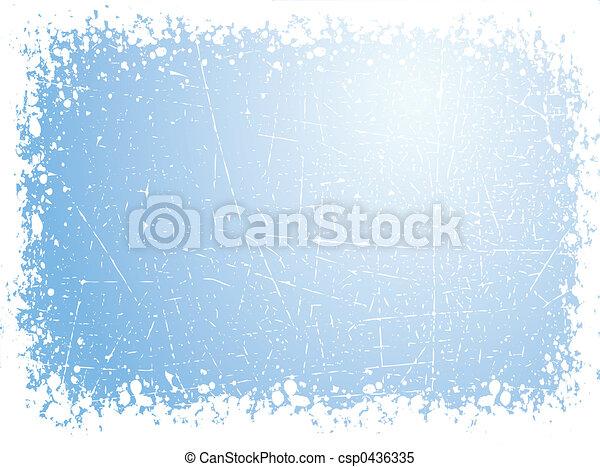 Grunge snow - csp0436335