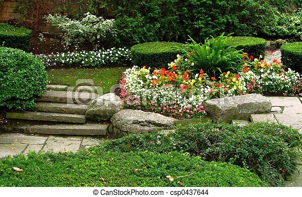 Quiet Garden - csp0437644