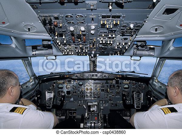 Archivi fotografici di volare aereo in il cabina for Piani di cabina 32x32