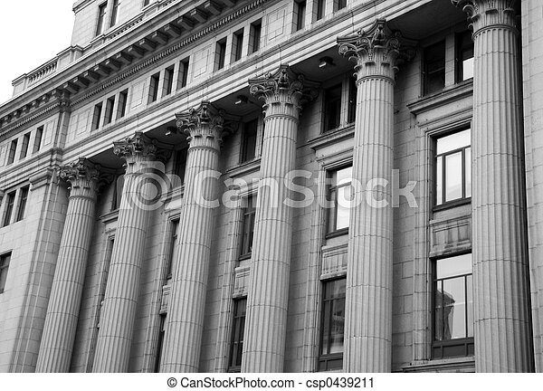 Courthouse Pillars - csp0439211