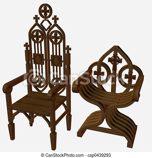 dessins de chaises moyen ge 3d render csp0439293 recherchez des illustrations clipart et. Black Bedroom Furniture Sets. Home Design Ideas