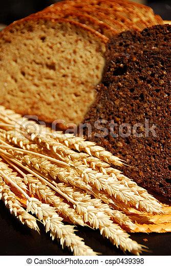 Rye bread - csp0439398