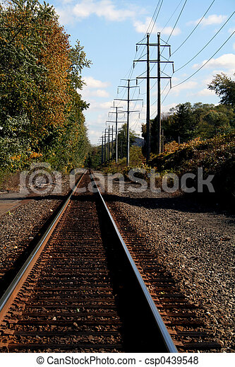 Railroad Tracks - csp0439548