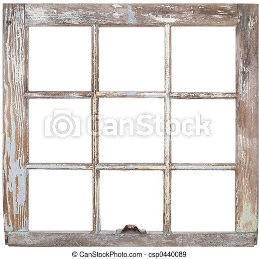 Banque de photographies de fen tre cadre a rustique for Cadre de fenetre