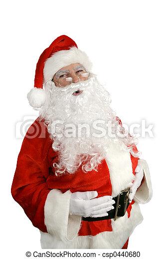 Santa Ho Ho Ho - csp0440680