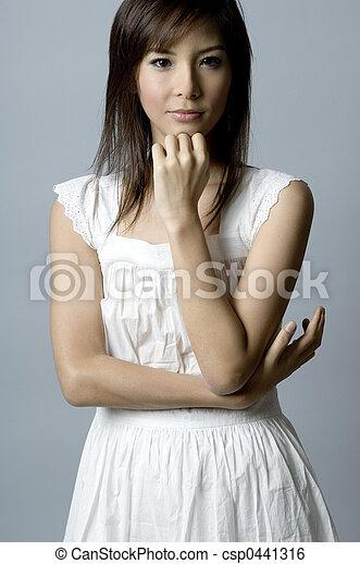 Asian Fashion Model - csp0441316