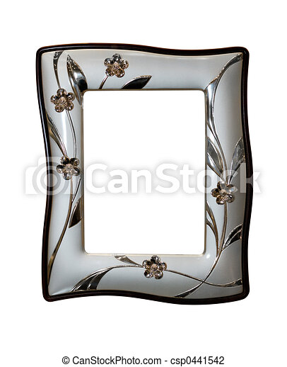 Nice modern photo frame - csp0441542
