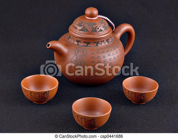 Kung Fu Tea Set - csp0441686
