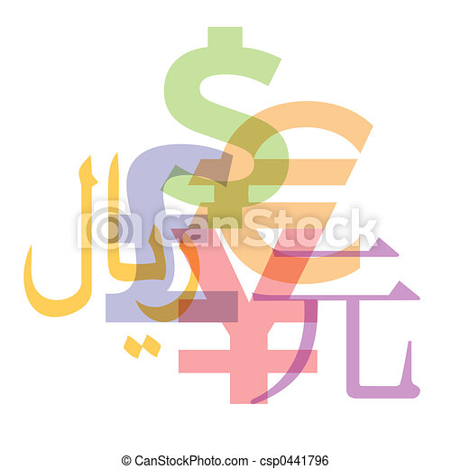 Currency Symbols - csp0441796
