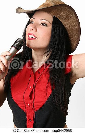 Singer, Host, Presenter - csp0442958